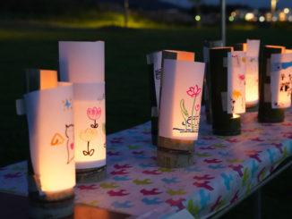 夕暮れまつり竹灯篭2