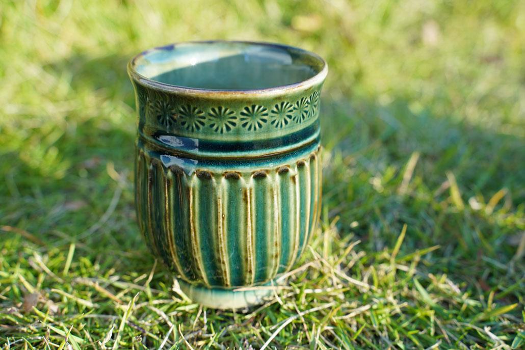 安藤陶房の湯飲み