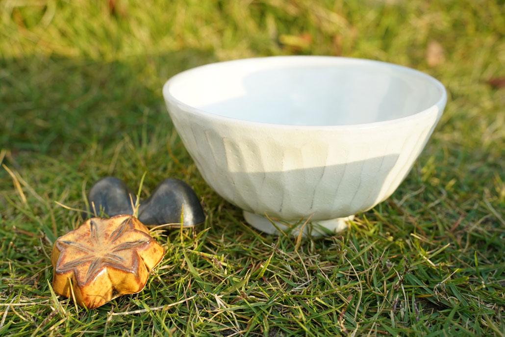 原清和陶苑の茶碗