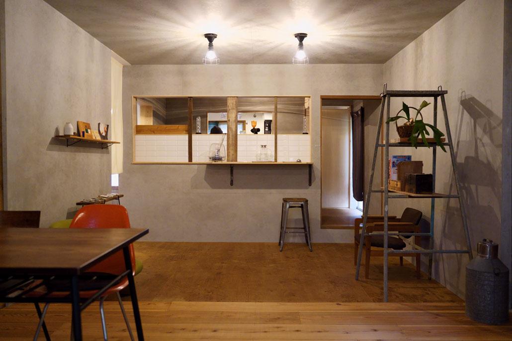 キッチン側の写真