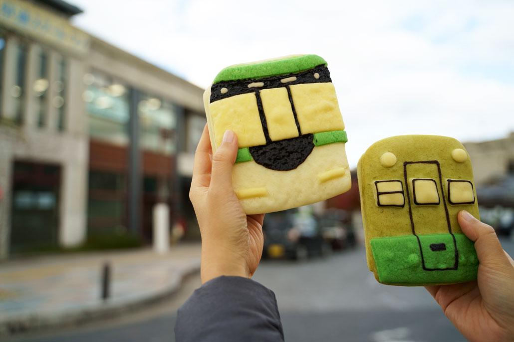 ぶんぶんのパン写真(京阪宇治駅)