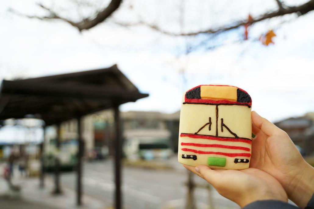 ぶんぶんのパン写真(京阪バス)