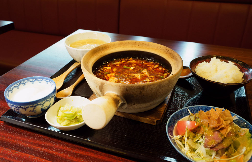四川麻婆豆腐セットの写真