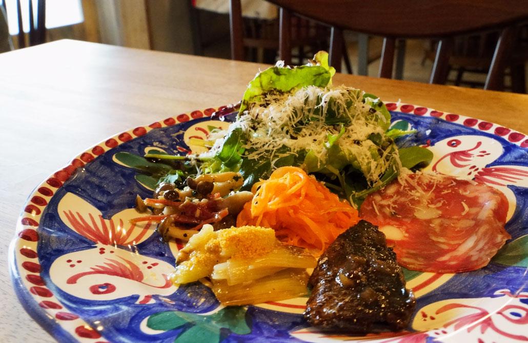 pizzeria PariarE/ピッツェリア パリアレ 前菜の写真