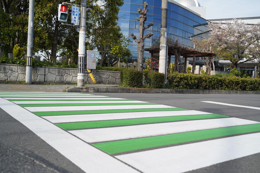 久御山横断歩道