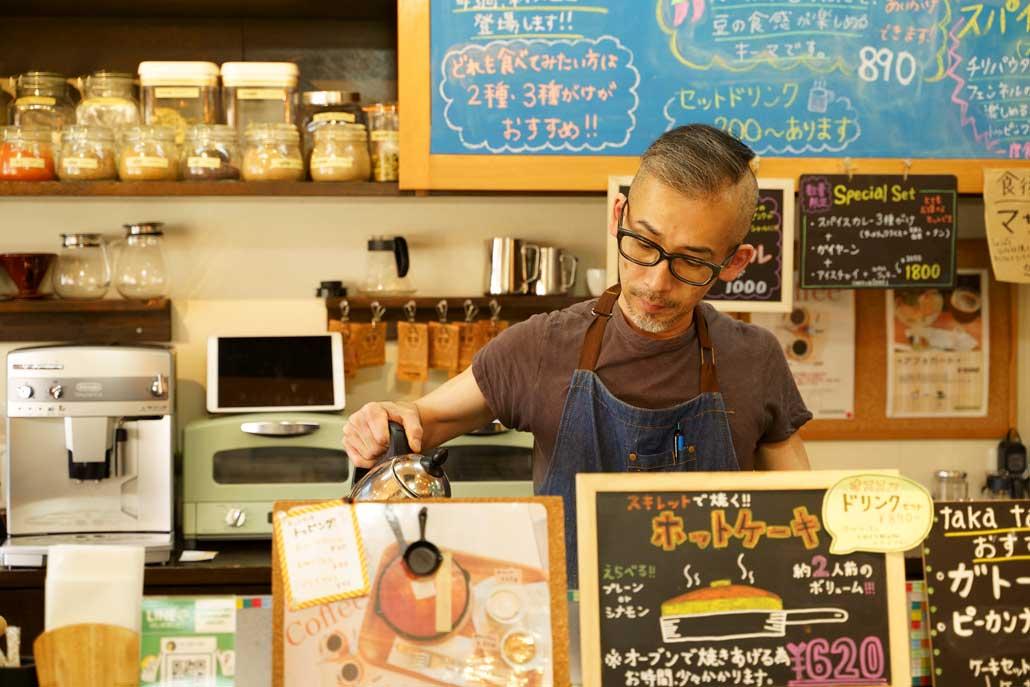 タカタカカフェ オーナーの写真1