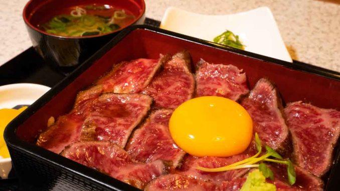 肉屋黒川「ステーキ重」の画像