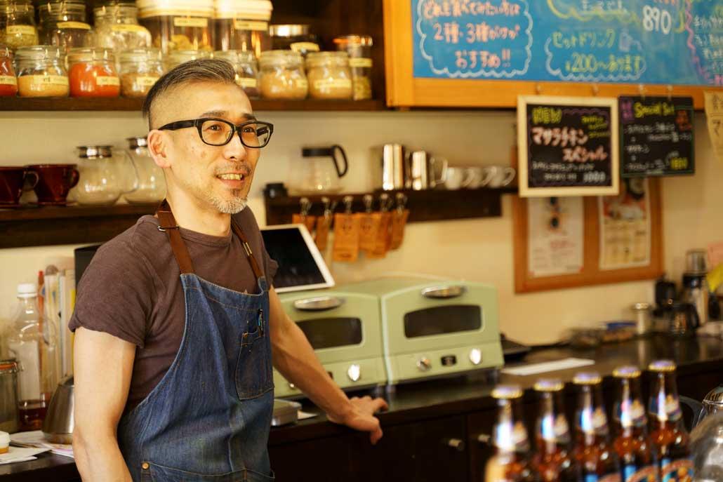 タカタカカフェ オーナーの写真2