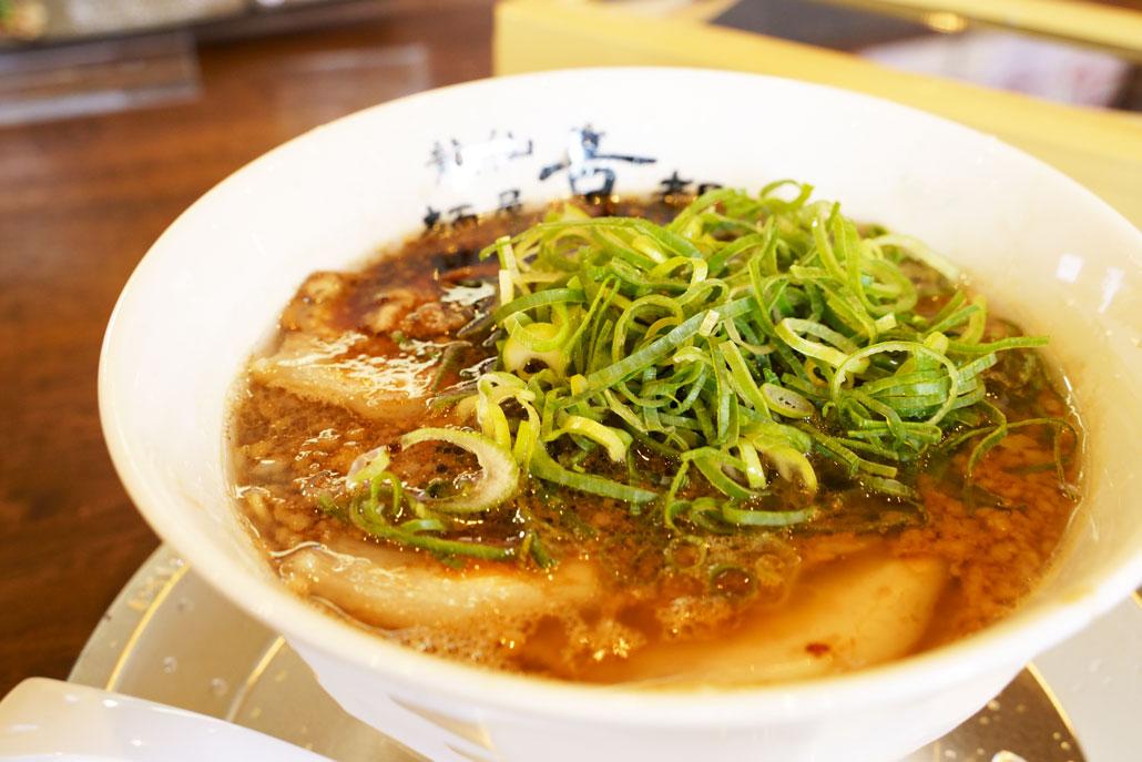 「龍仙 麺屋 京都」ラーメンの写真