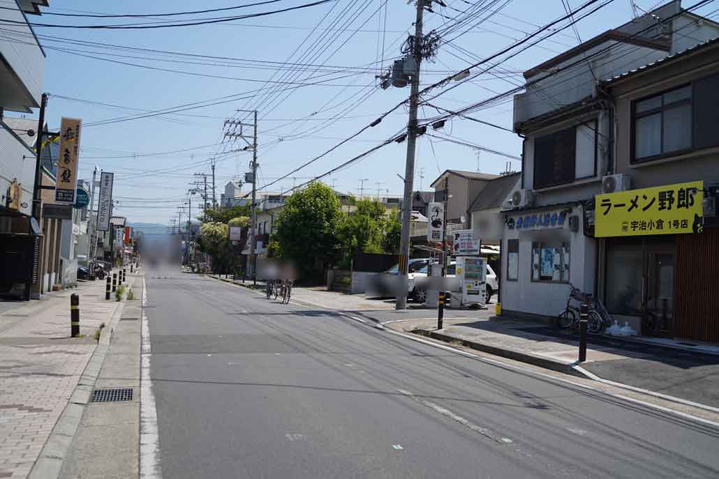 「ラーメン野郎 宇治小倉1号店」外観画像2