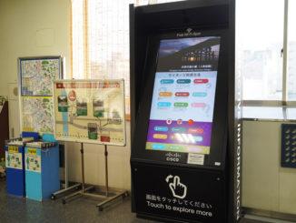 JR宇治駅デジタルサイネージ