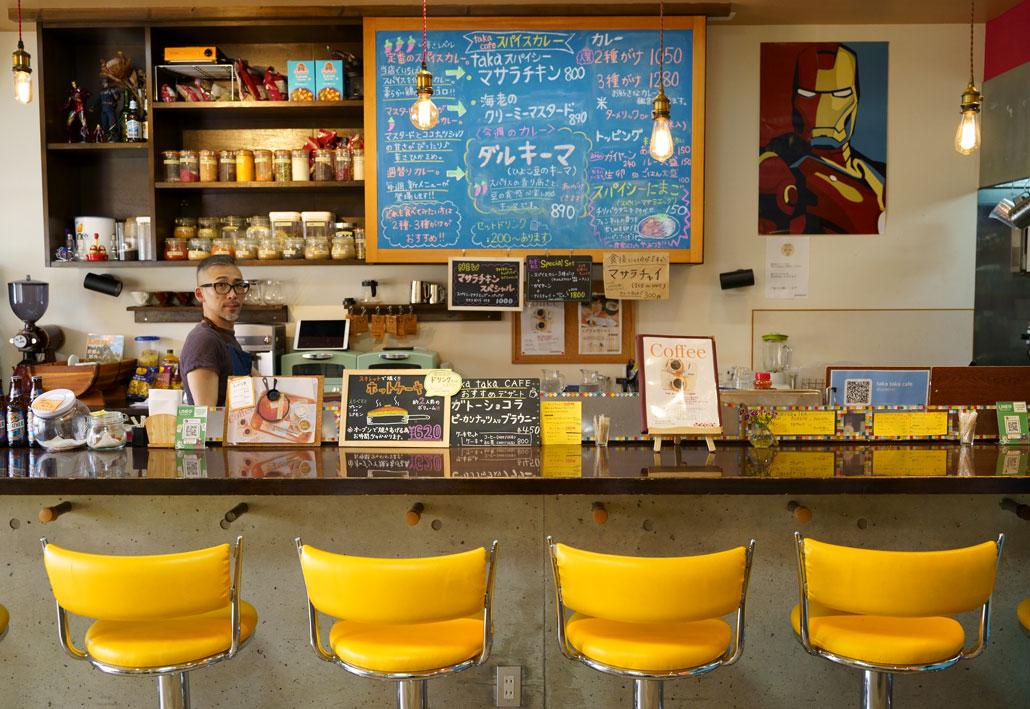 タカタカカフェ店内写真1