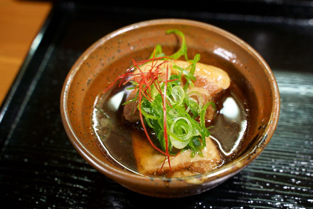 美味処司 海鮮丼につく小鉢の写真