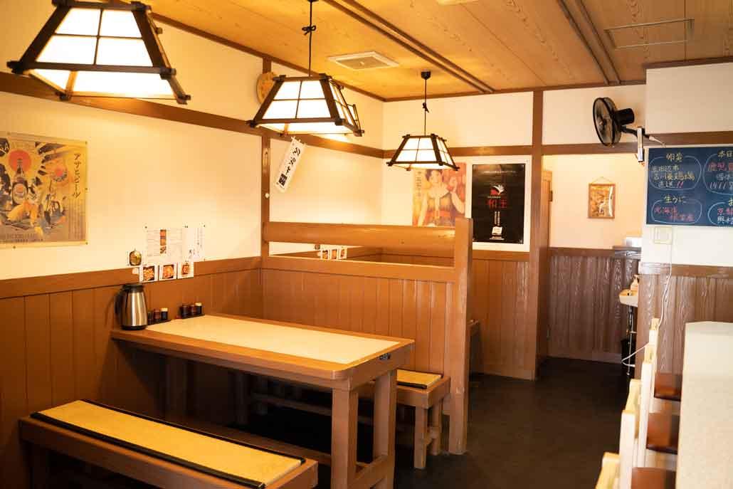 肉屋黒川の店内画像