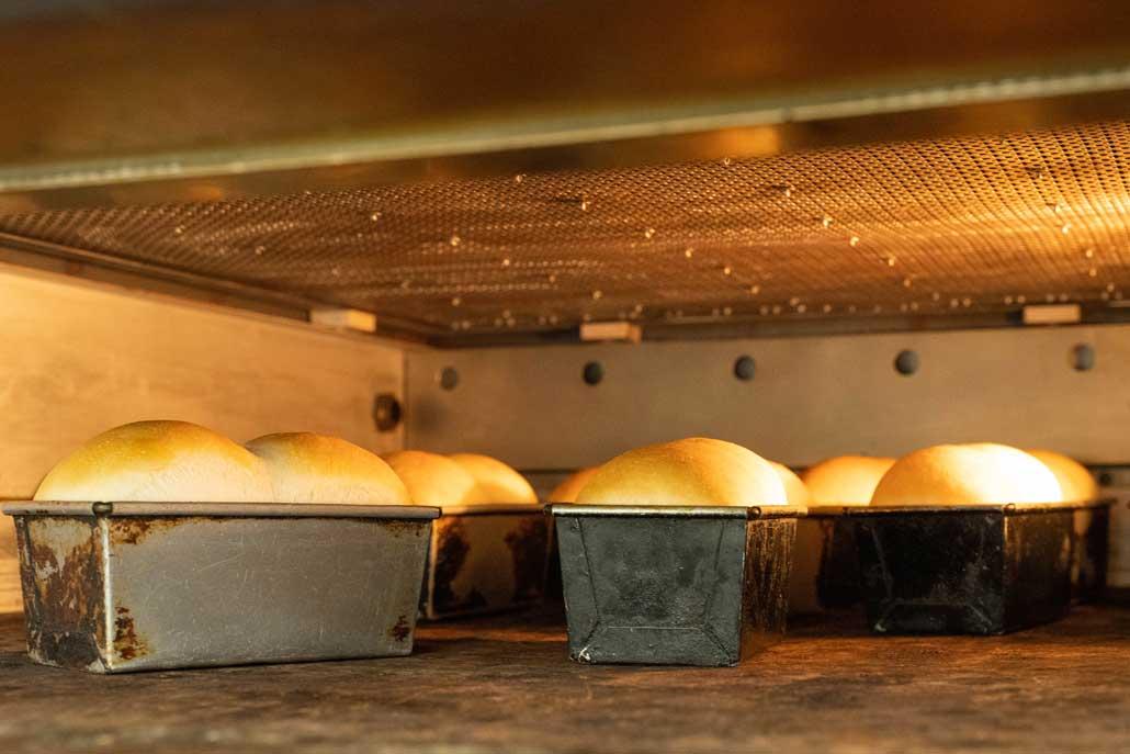 プルンニャのパン焼き上げ画像