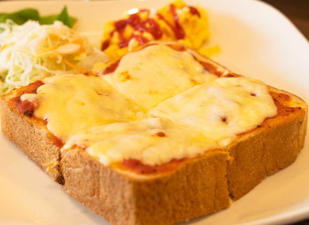 チーズトーストの画像