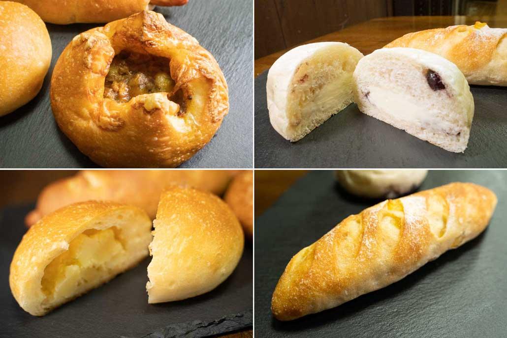プチボヌールのパン
