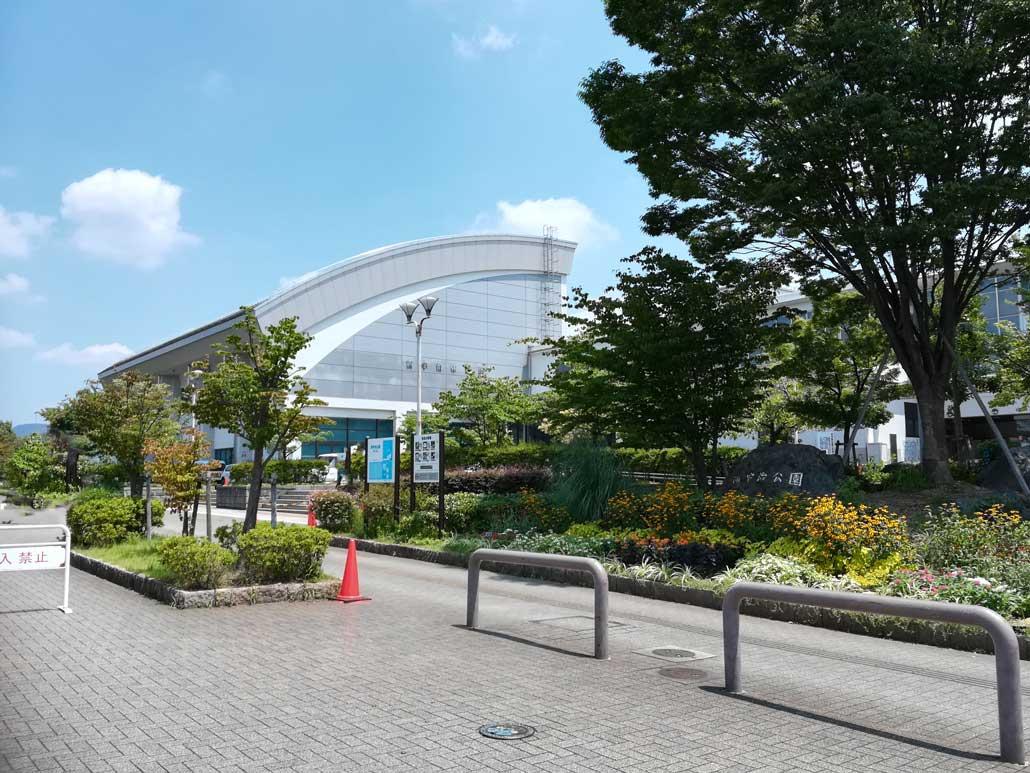 西宇治公園プール外観画像