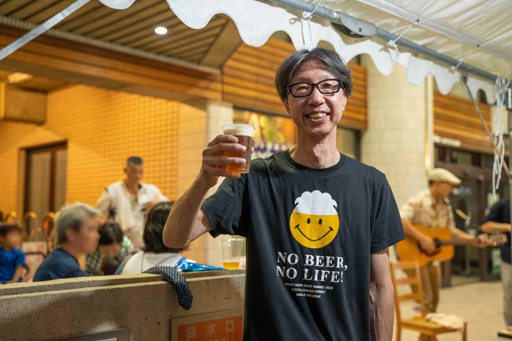 クラフトビール夜市2019佐脇さん画像