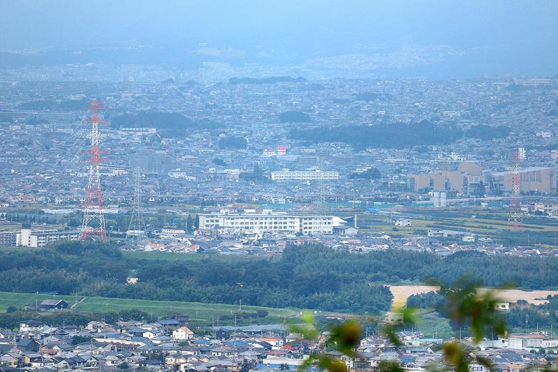 甘南備山からの景色の画像