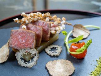 伊賀牛ロース肉のロースト