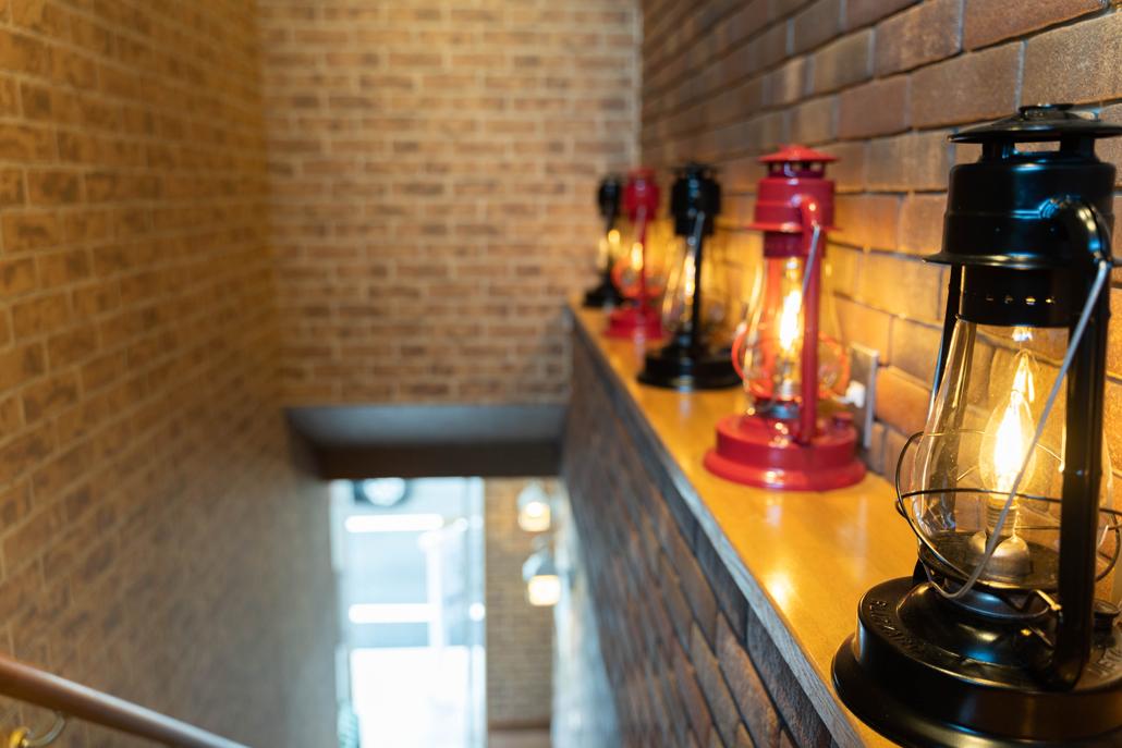 大佛汽茶の階段の画像