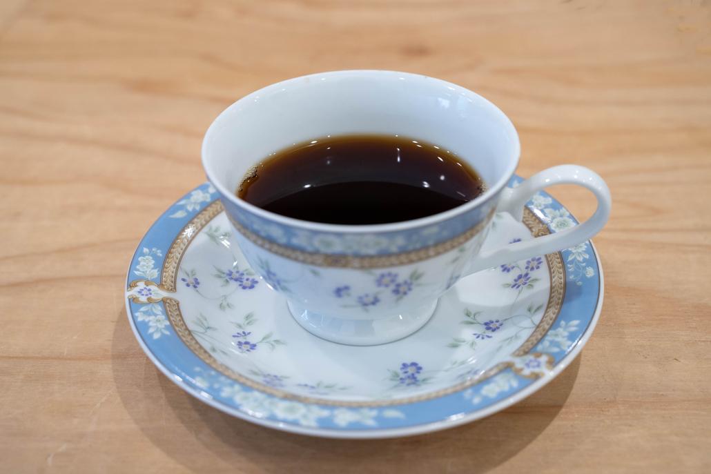 「手作リカレーの店 朱」×「SOCIO SUCCULENT 」コーヒーの画像