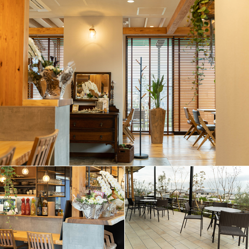 カフェレストラン 「庵 / ANN」店内の画像1