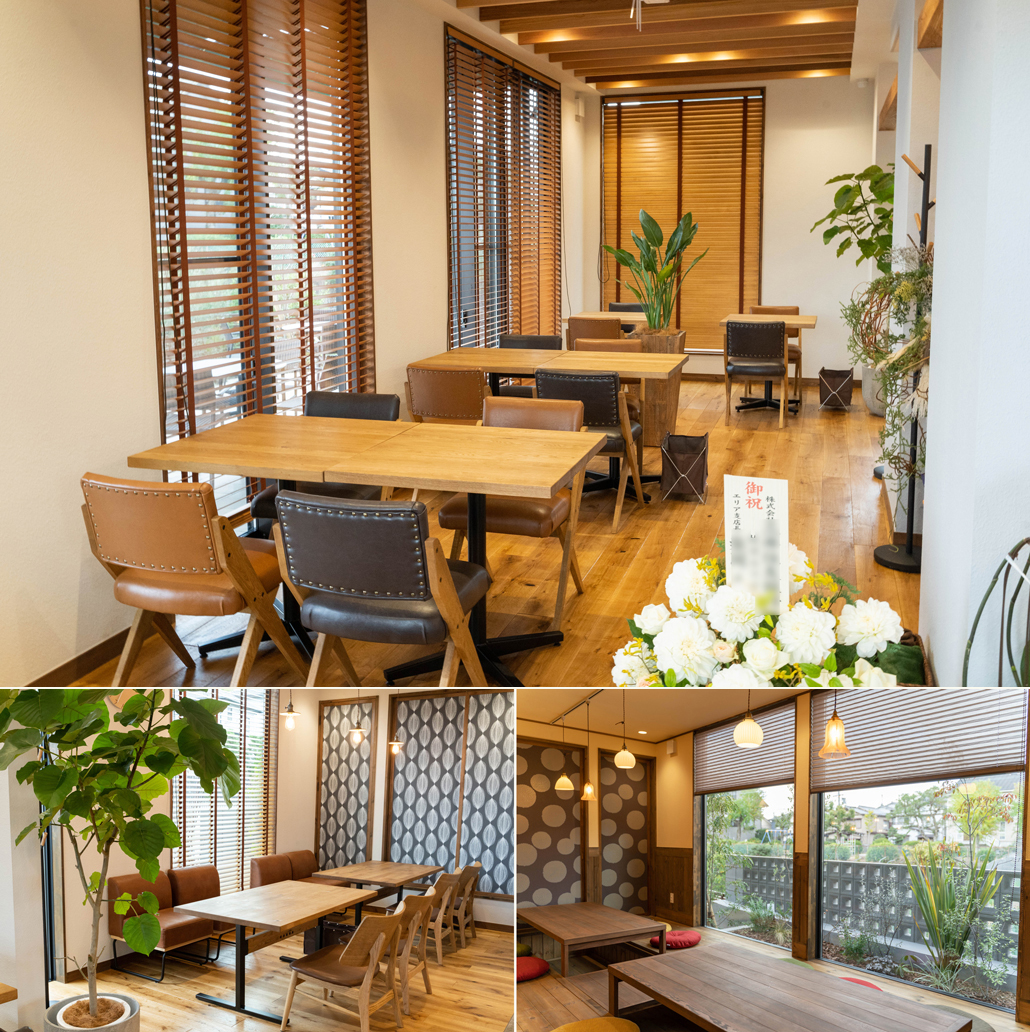 カフェレストラン 「庵 / ANN」店内の画像2