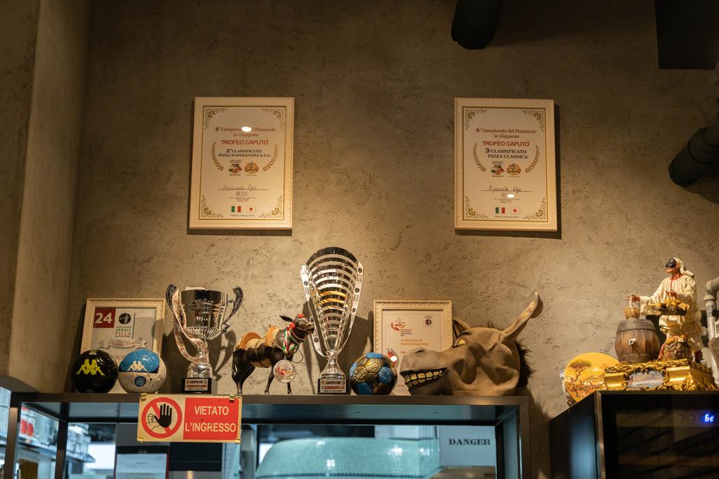 「Antica Pizzeria L'ASINELLO / アンティカ ピッツェリア ラジネッロ」店内の画像2