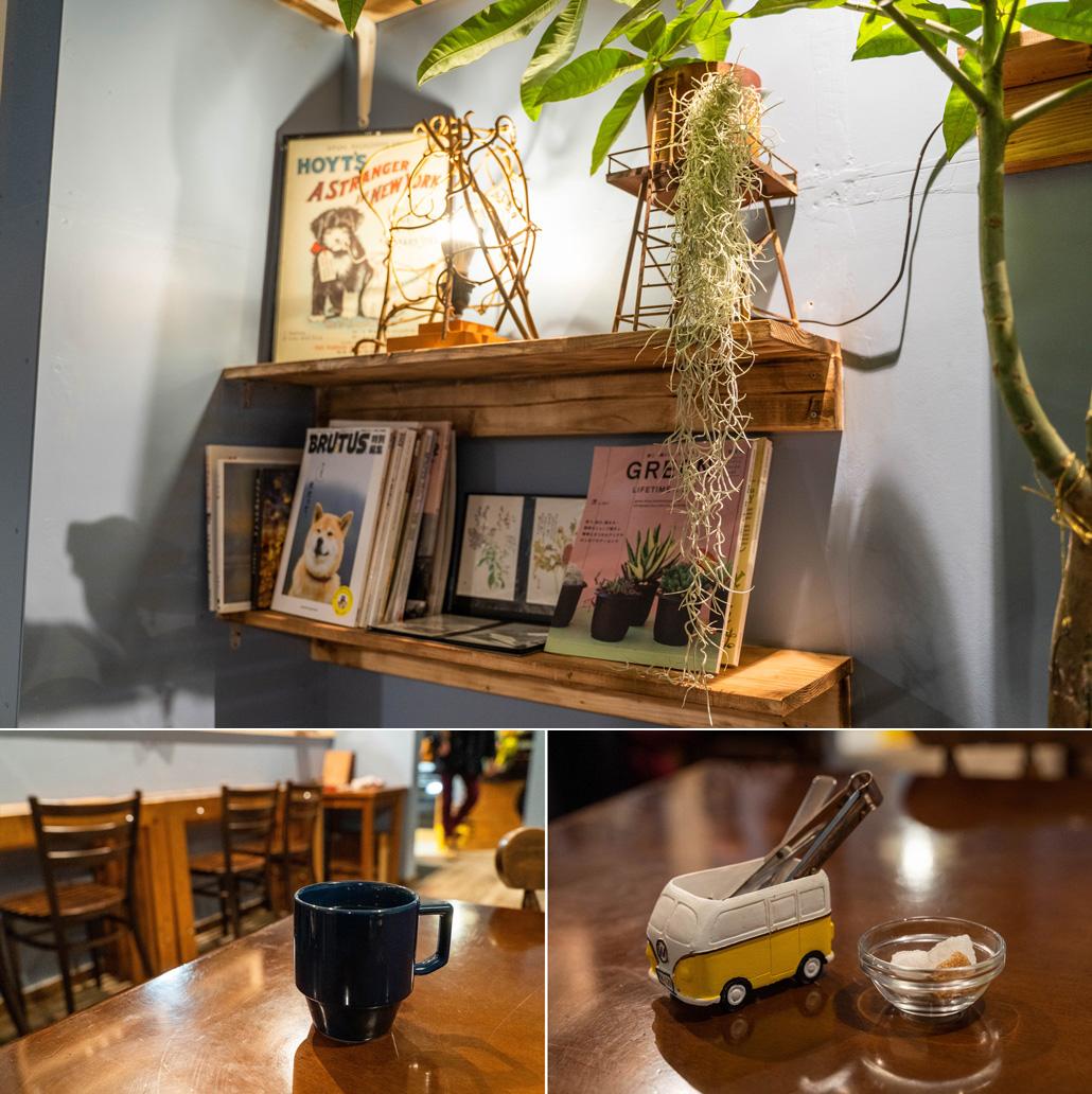 木製ロケットカフェ画像