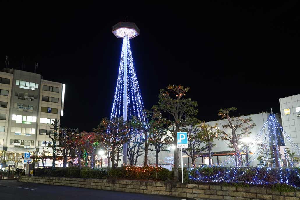 新田辺駅前イルミネーション2019の画像