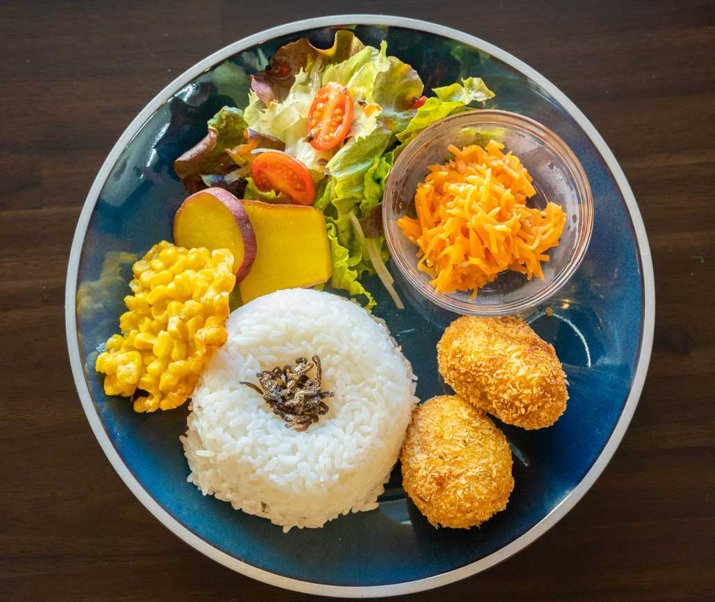 「MAKARINA食堂」ワンプレートランチの画像