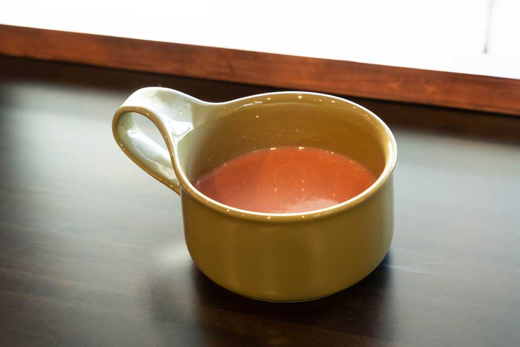 「MAKARINA食堂」スープの画像