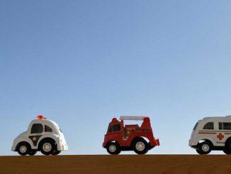 緊急救急車両の画像