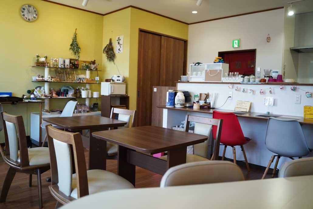 「ほっこりカフェ みちぐさ」店内画像