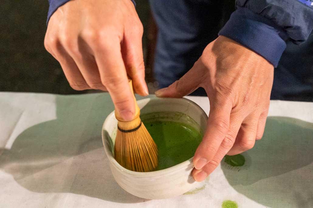 あがた神社の抹茶の画像1