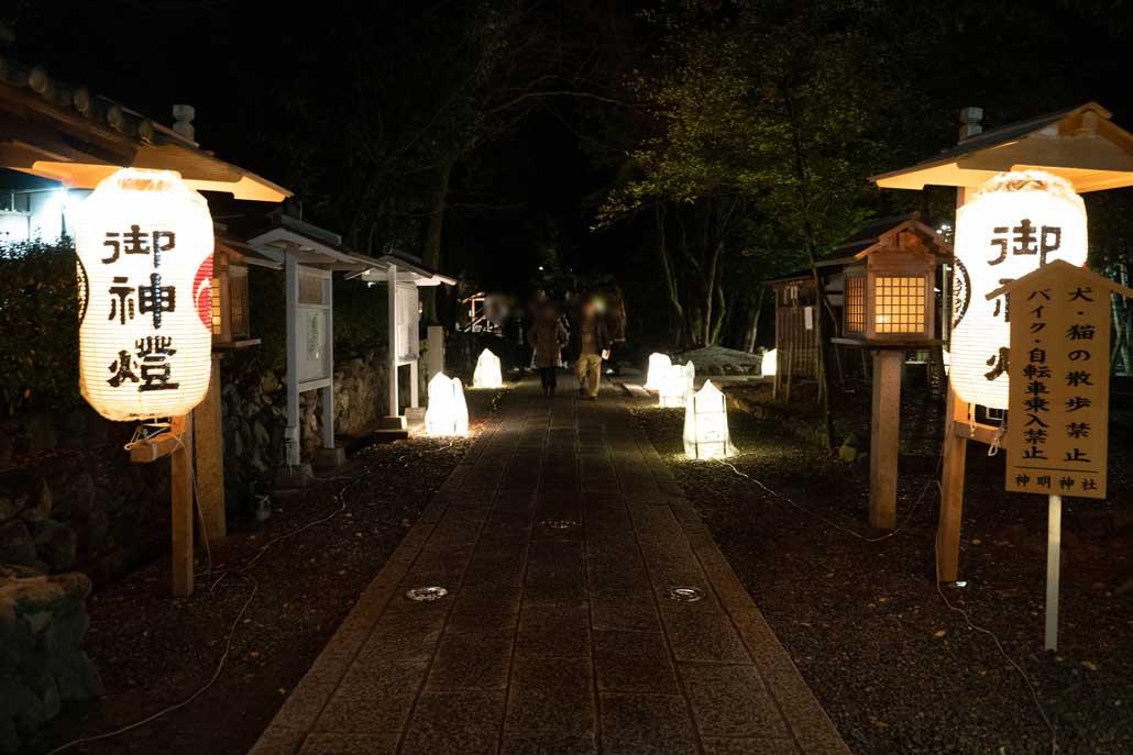 神明神社の画像