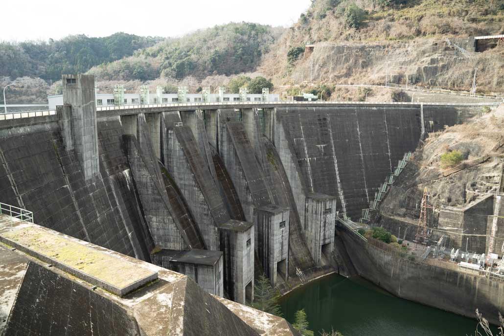 高山ダム(東側)④