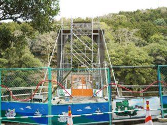 天ヶ瀬吊橋封鎖の画像1