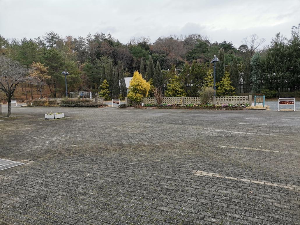 宇治市植物公園「レストラン蝶々」前の広場の画像