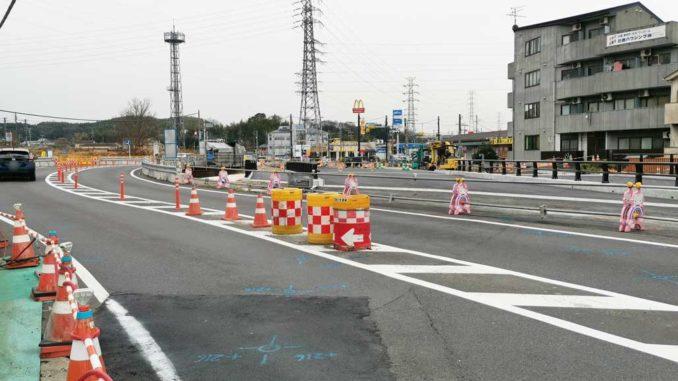 国道24号線「大谷交差点~木津奈良道交差点」の画像