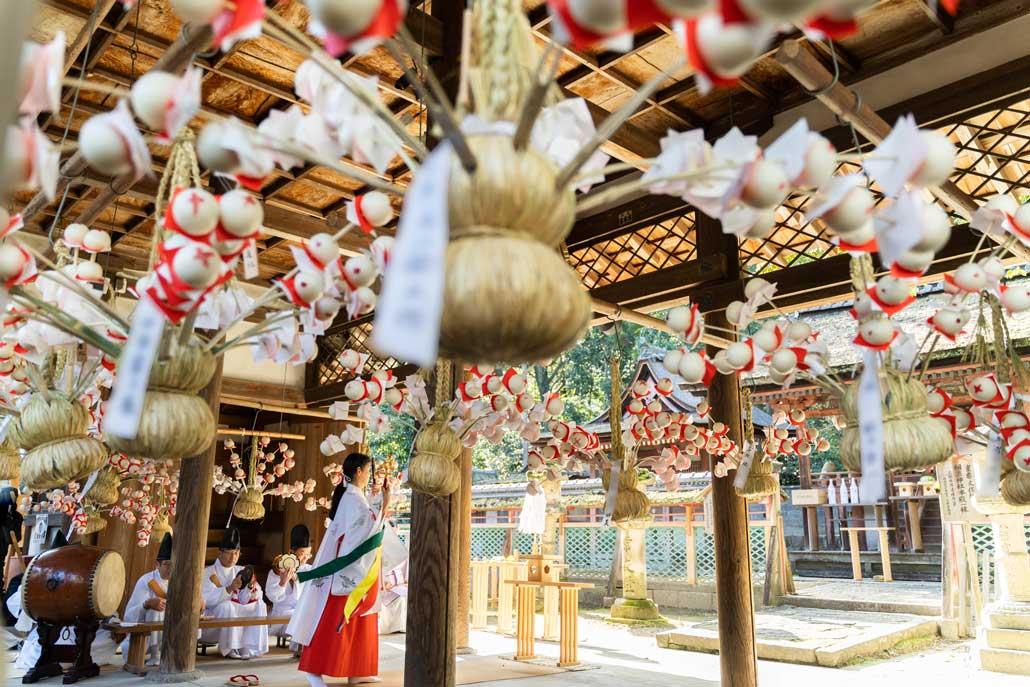 「餅花祭」の画像