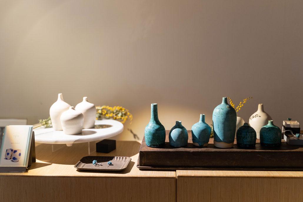 小川文子氏の陶芸作品の画像