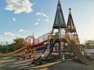 八幡市民スポーツ公園複合遊具の画像