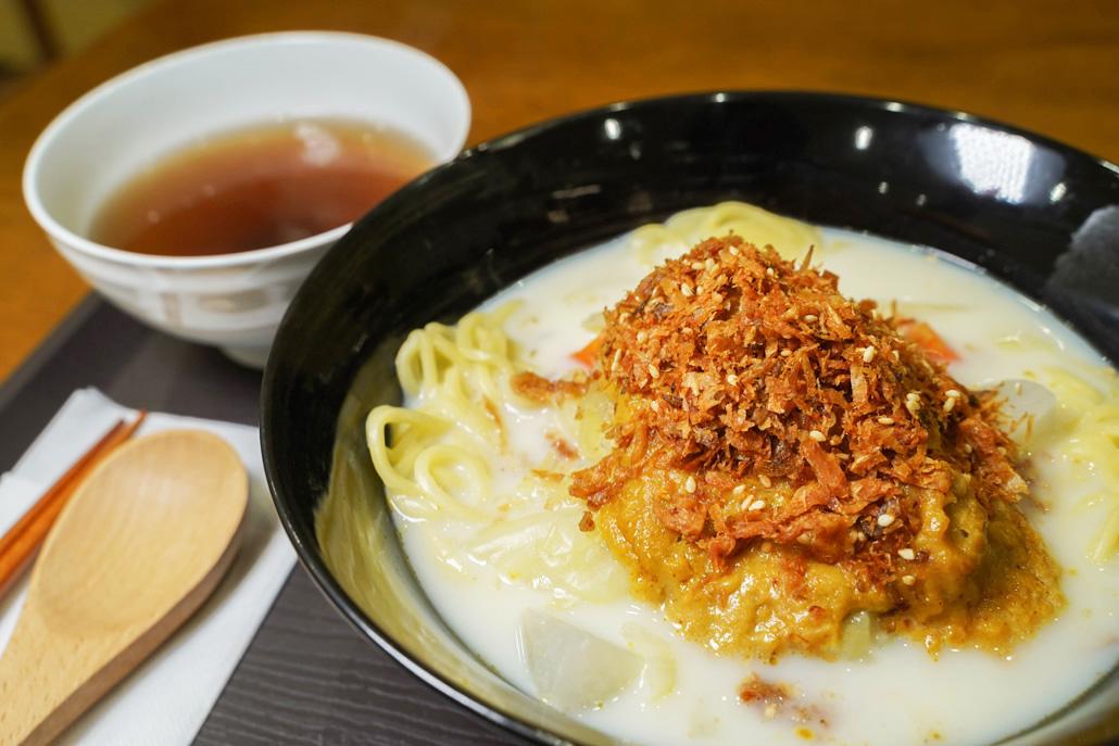 「台湾素食無垢」豆乳担々麺の画像