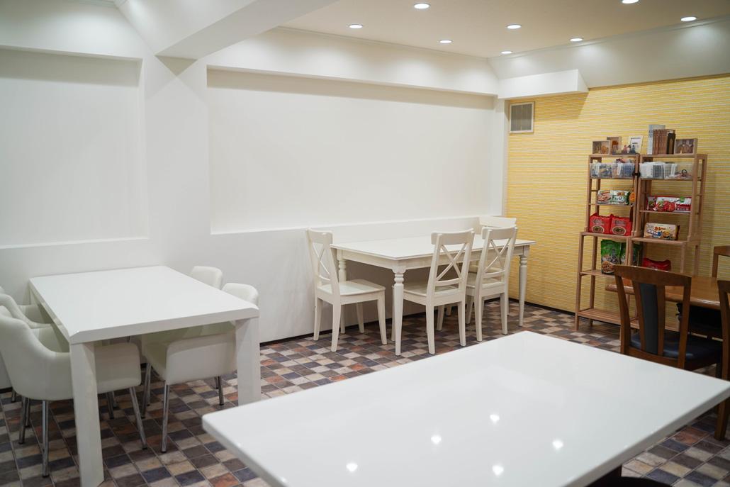 「台湾素食無垢」店内画像