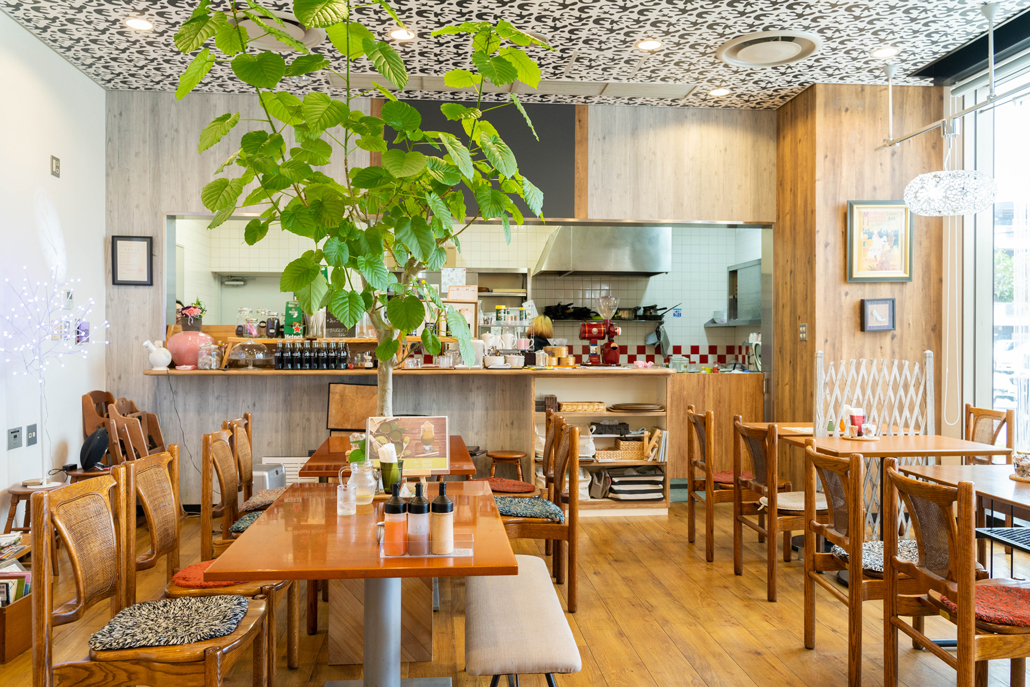SAKURA COFFEE店内画像