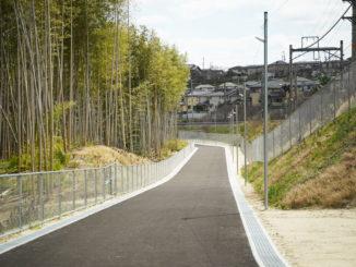 自転車歩行者専用道路「市道山手東上西野線」の画像3
