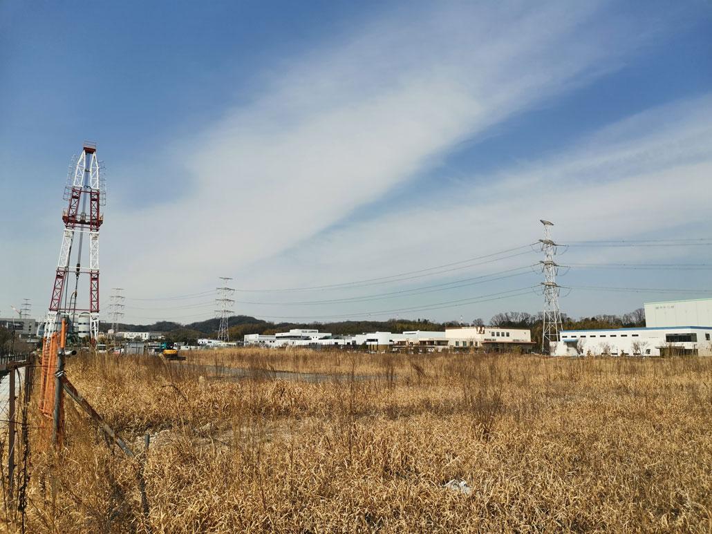 工事現場の画像